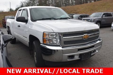 Pre-Owned 2013 Chevrolet Silverado 1500 LT 4WD Extended Cab