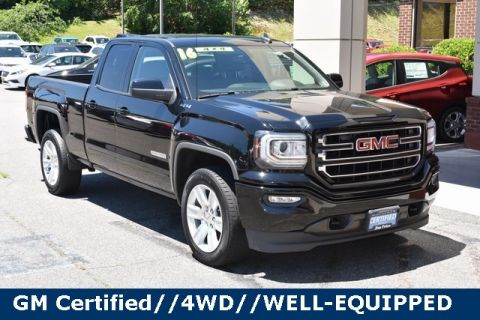 Pre-Owned 2016 GMC Sierra 1500 4WD Extended Cab