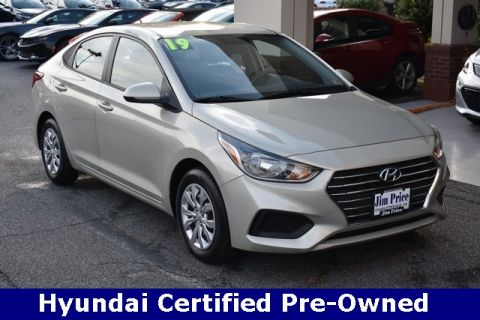 Certified Pre-Owned 2019 Hyundai Accent SE FWD 4D Sedan