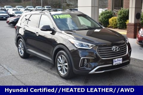 Certified Pre-Owned 2017 Hyundai Santa Fe Limited AWD 4D Sport Utility
